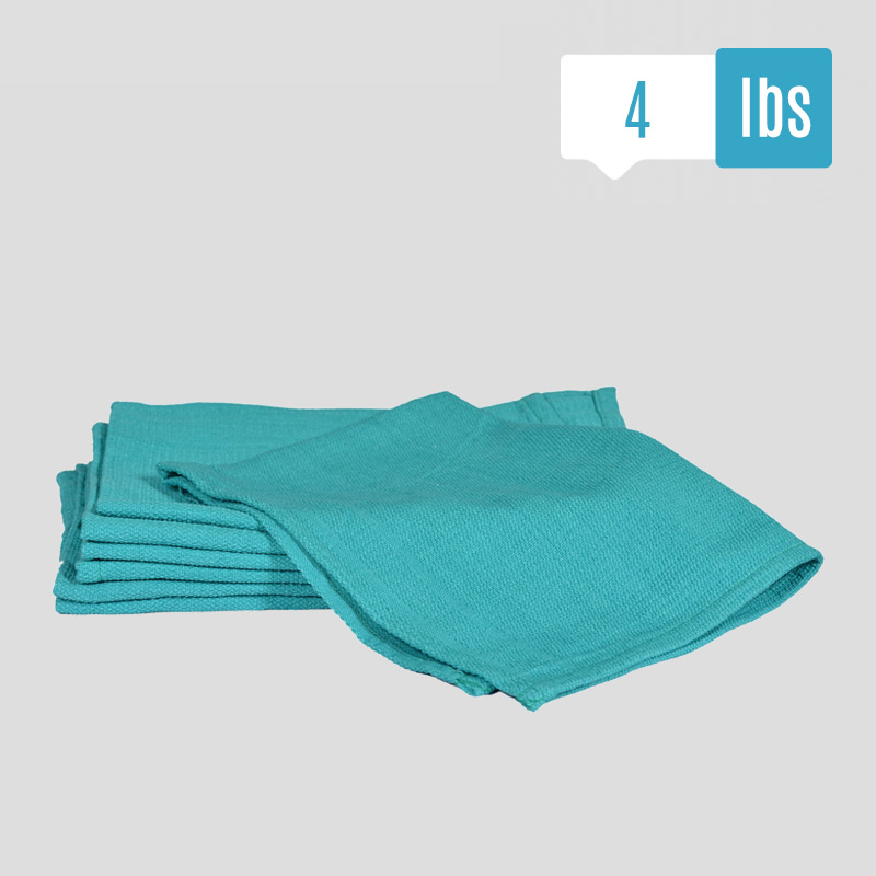 Huck Surgical Towels: New Blue Huck Towels, Reclaimed Surgical Huck Towels